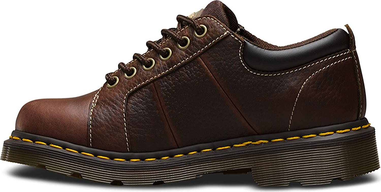 Amazon.com: Dr. Martens Women's Mila NS 6 Eye Leather, Work Oxfords: Shoes