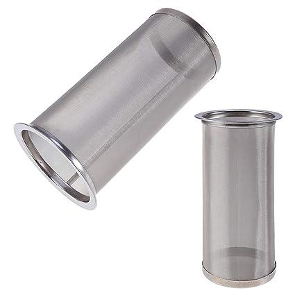El filtro reusable del té del tamiz del café del acero ...
