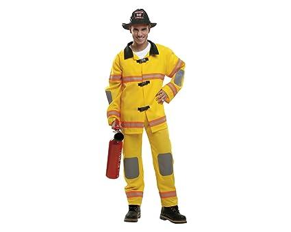 My Other Me Me - Disfraz Bombero amarillo adulto, talla S ...