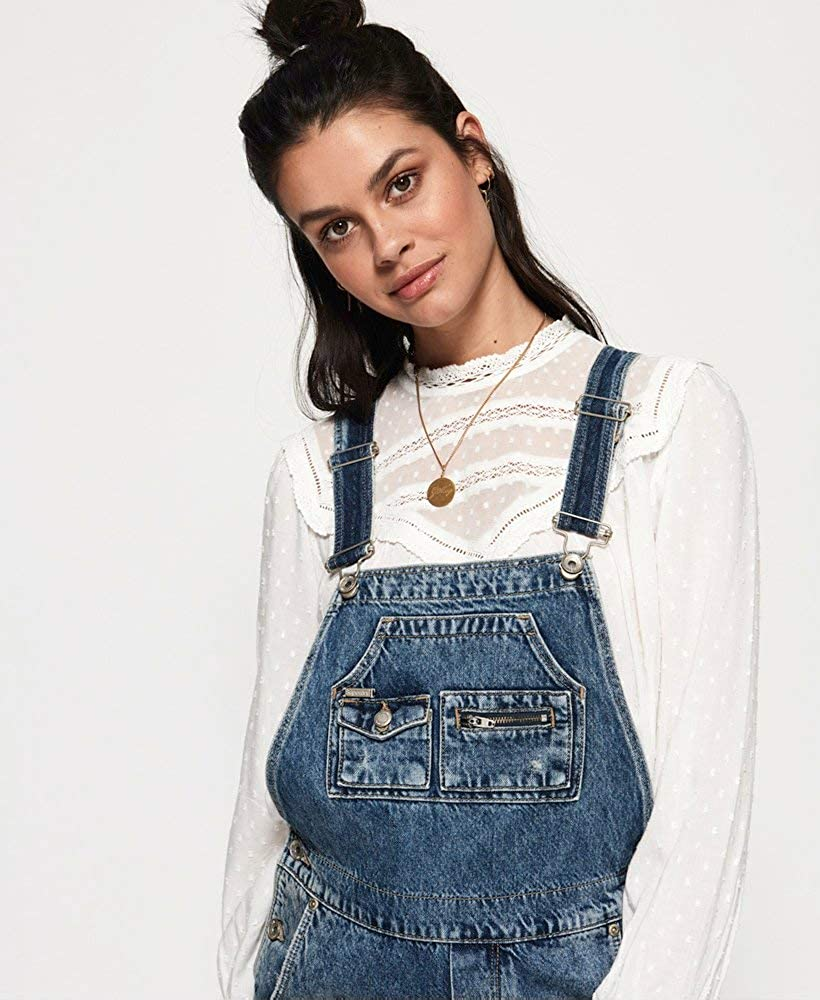 Superdry Damen Overall Rodeo Lace
