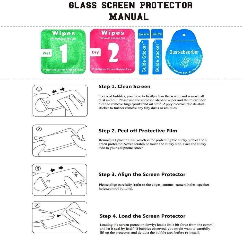 3D-Touch Duret/é 9H Installation Facile Film Protection /Écran Vitre HD pour Apple iPhone 11 6.1 1 Pi/èces Bear Village/® Verre Tremp/é iPhone 11 6.1