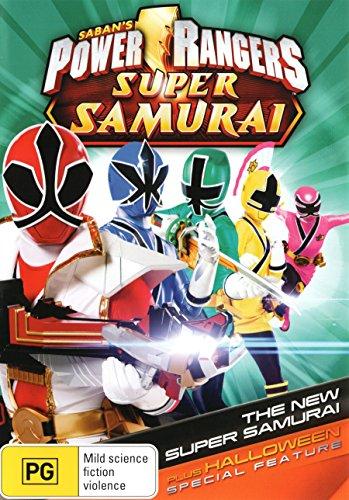 Power Rangers Super Samurai - Volume 1 - The New Super Samarai (with Halloween Special Feature) DVD]()