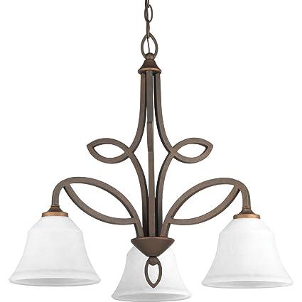Amazon.com: Progress iluminación 3 – 100 W Medium Base ...