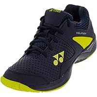 YONEX Power Cushion Eclipsion 2 Junior Tennis Shoes Navy/Yellow