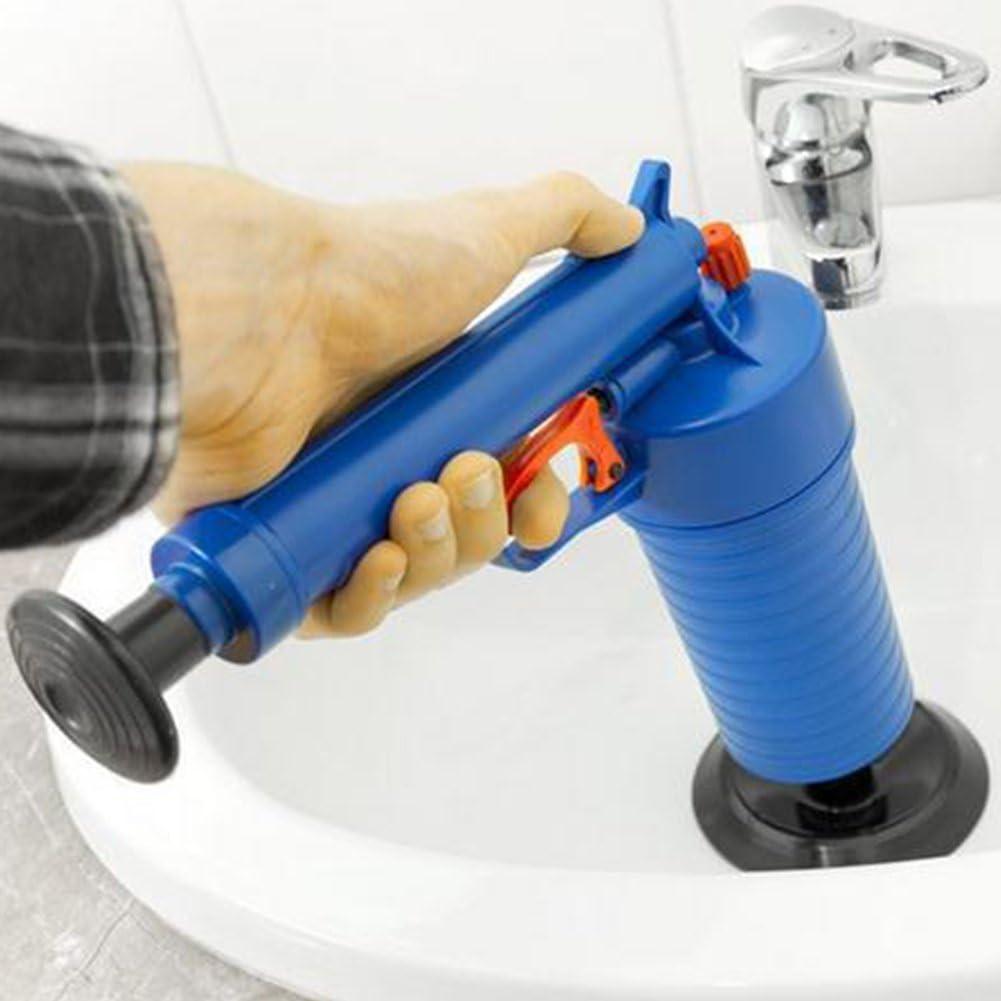 Druck Pumpe Reiniger Abfluss Reinigungswerkzeug Hochdruck Kraftvoll Waschbecken Saugglocke /Öffner Reiniger Pumpe f/ür Bad Toiletten Dusche Badezimmer GSDCNV Toilette Saugglocke