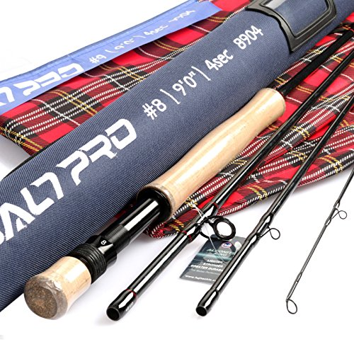 (M MAXIMUMCATCH Maxcatch Saltwater Fly Fishing Rod 9ft 8/9/10wt Graphite IM10 Fast Action(9ft 9wt))