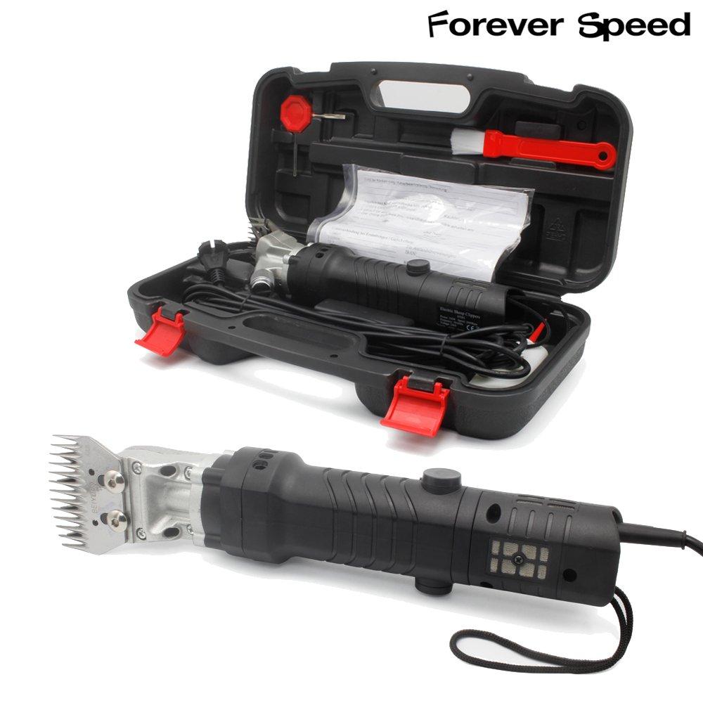 Forever Speed 350W Cheveux Tondeuse mouton Animal pour moutons électrique Cisailles de chèvre Cisailles de moutons Animaux