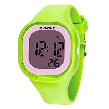 XKC-watches Relojes de Mujer, Mujer Niños Reloj Deportivo Reloj Militar Reloj de Vestir