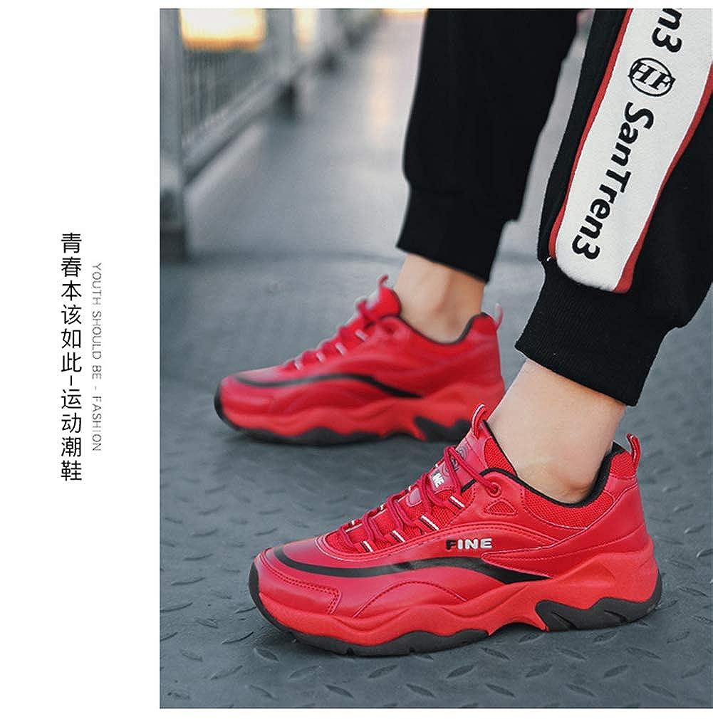 TMSE TMSE TMSE Lässige Turnschuhe Street Fashion ROTschwarz, EU39 - 4964f0