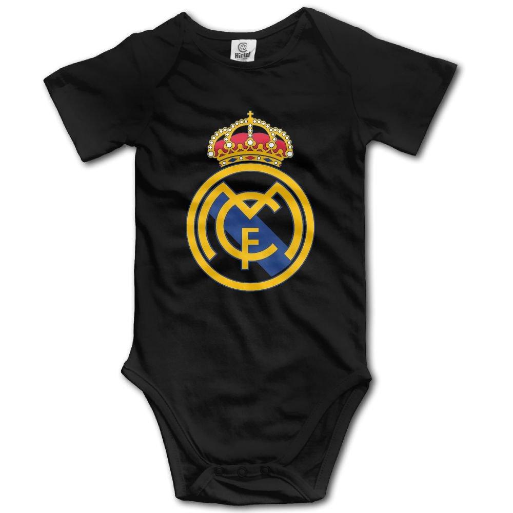 Amazon.com: Body de algodón con el logotipo del Real Madrid ...