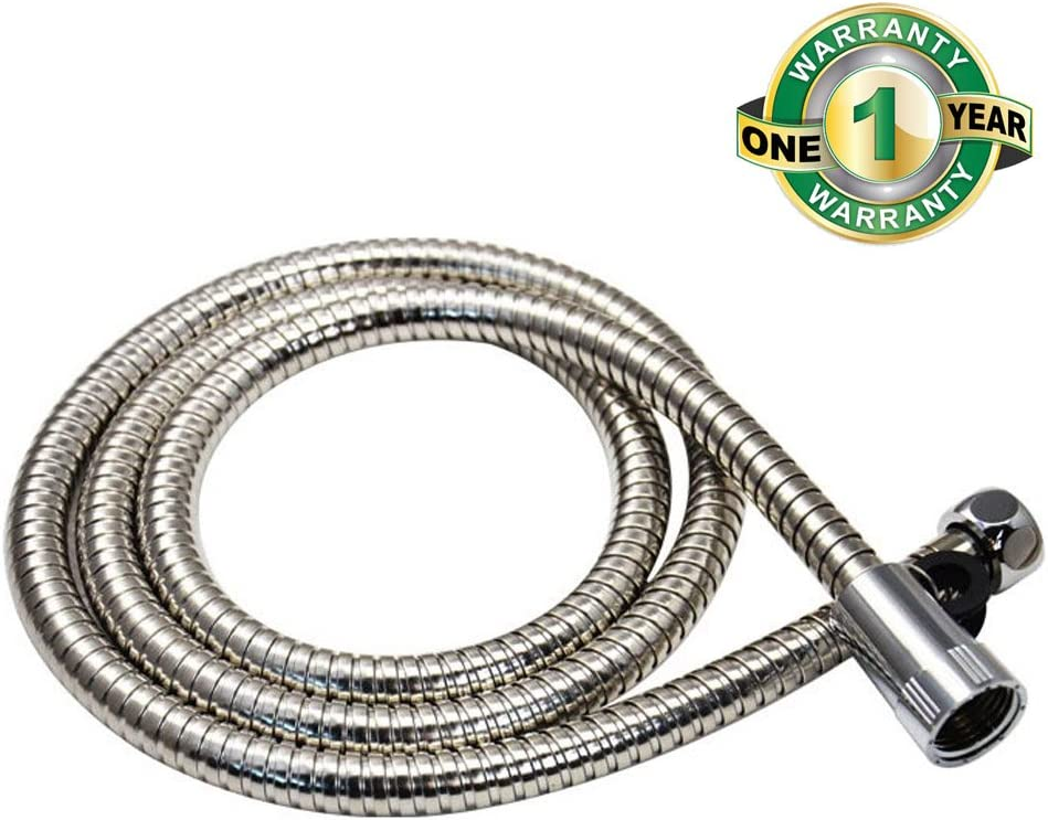 1x 2m Stainless Steel Shower Hose Flexible Tube Kit For Shower Handhead Replace Home Garden Rateshop Home Improvement