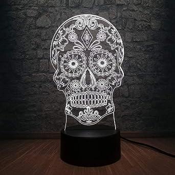 lampe tête de mort 6