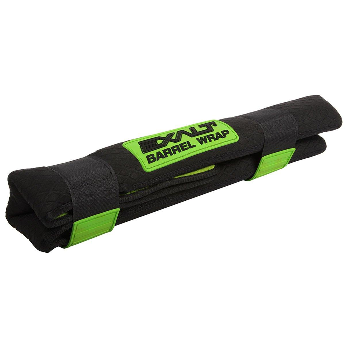 Exalt Paintball Barrel Wrap - Black / Lime