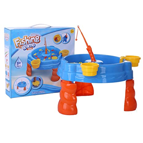 Amazon com: Gbell Beach Toys for Toddlers Age 2-4,Big Sandbox