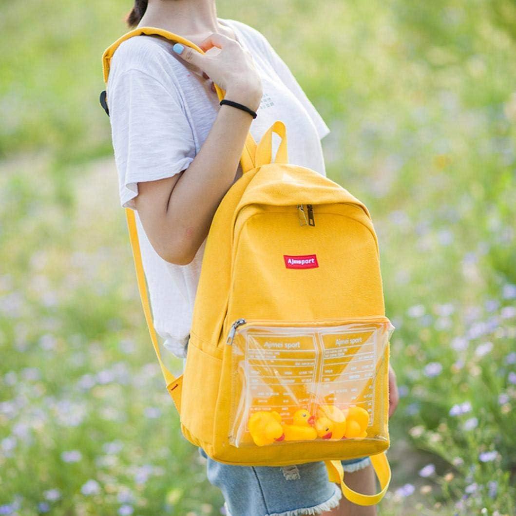 Student School Bags Amiley Cute Cartoon Duck Animal Travel School Bags Backpack