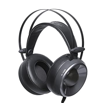 Docooler Auriculares Estéreo para Juegos con Cable, Auriculares Gaming, Game Headphone Cascos, Gaming