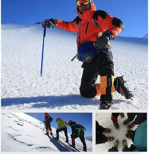 BRS Professional Outdoor Climbing Non - Slip Adjustable Aluminum Crampons