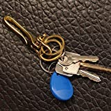 1 Pieces Solid Brass Bow Shackle Belt Keyring
