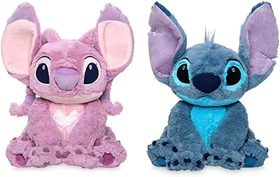 Price Toys Disney Stitch And Angel Soft Toy Set From Lilo And Stitch Medium Plush Medium Set