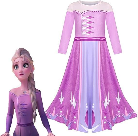 JiNKesI Anna Elsa Olaf Act 1 Disfraz de Halloween de Navidad para ...