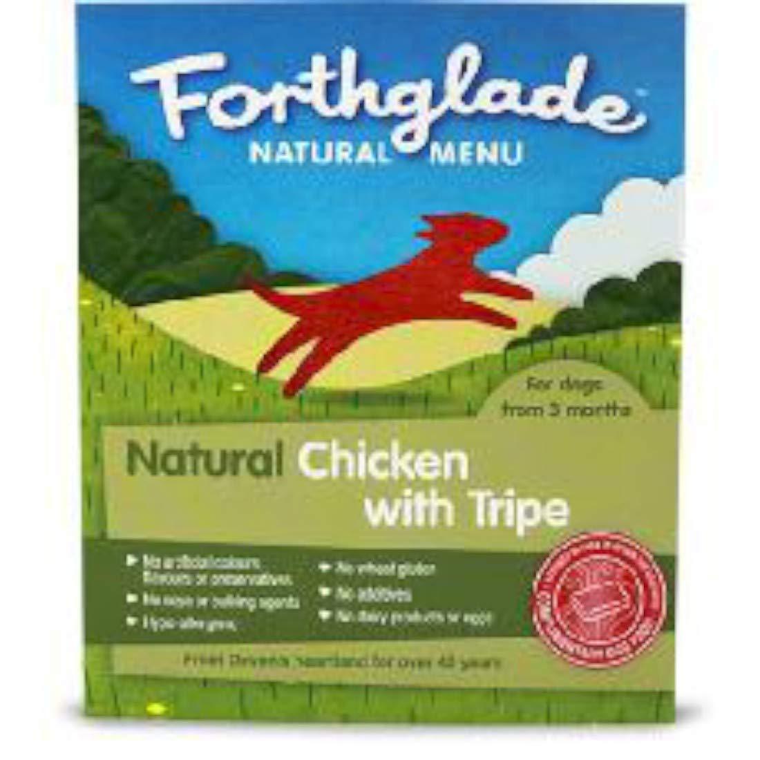 Forthglade Natural Menu Chicken & Tripe (18 x 395g) by Forthglade