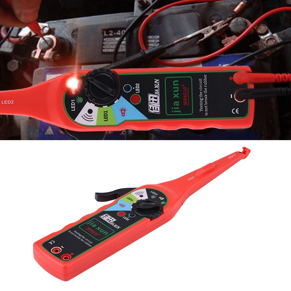 Qiilu Multifunction Auto Circuit Tester Multimeter Lamp Car Repair Electrical Diagnostic Tool by Qiilu (Image #5)