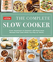 The Complete Slow Cooker is America's Test Kitchen's definitive guide to how to cook using a slow cooker. It builds on the success the test kitchen has had from years of testing and retesting slow cooker recipes and pushing the limits of what...