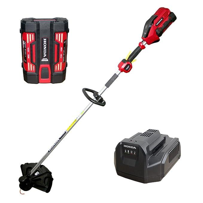 Honda 56 V batería cortabordes - 38 cm - hhte 38 + 2 Ah Batería + ...