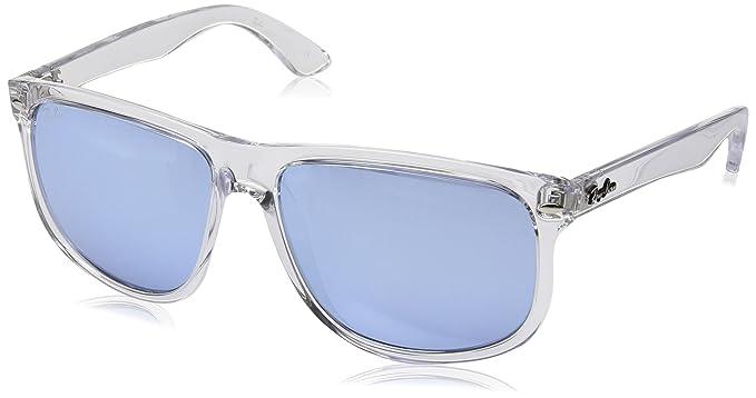 Rayban 0RB4147 63251U 60 Montures de lunettes Homme,  (Transparente Blueflashsilver)  Amazon.fr  Vêtements et accessoires fc559a0e44e9