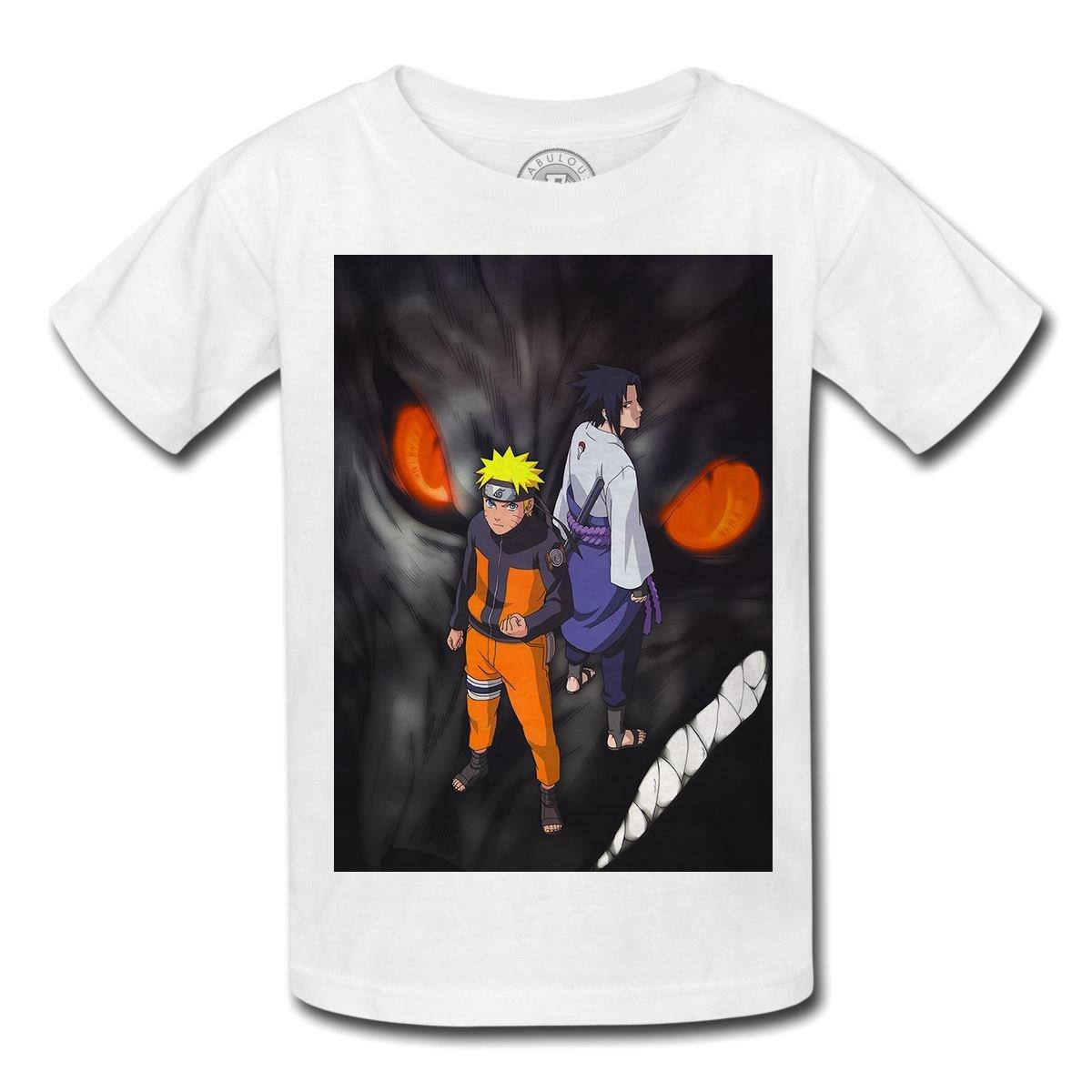 T-Shirt enfant Naruto Sasuke Demon Manga Ninja Monstre