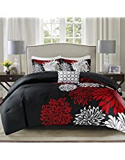 Comfort Spaces All Season Down Alternative Bedding, Matching Shams, Bedskirt, Decorative Pillows,