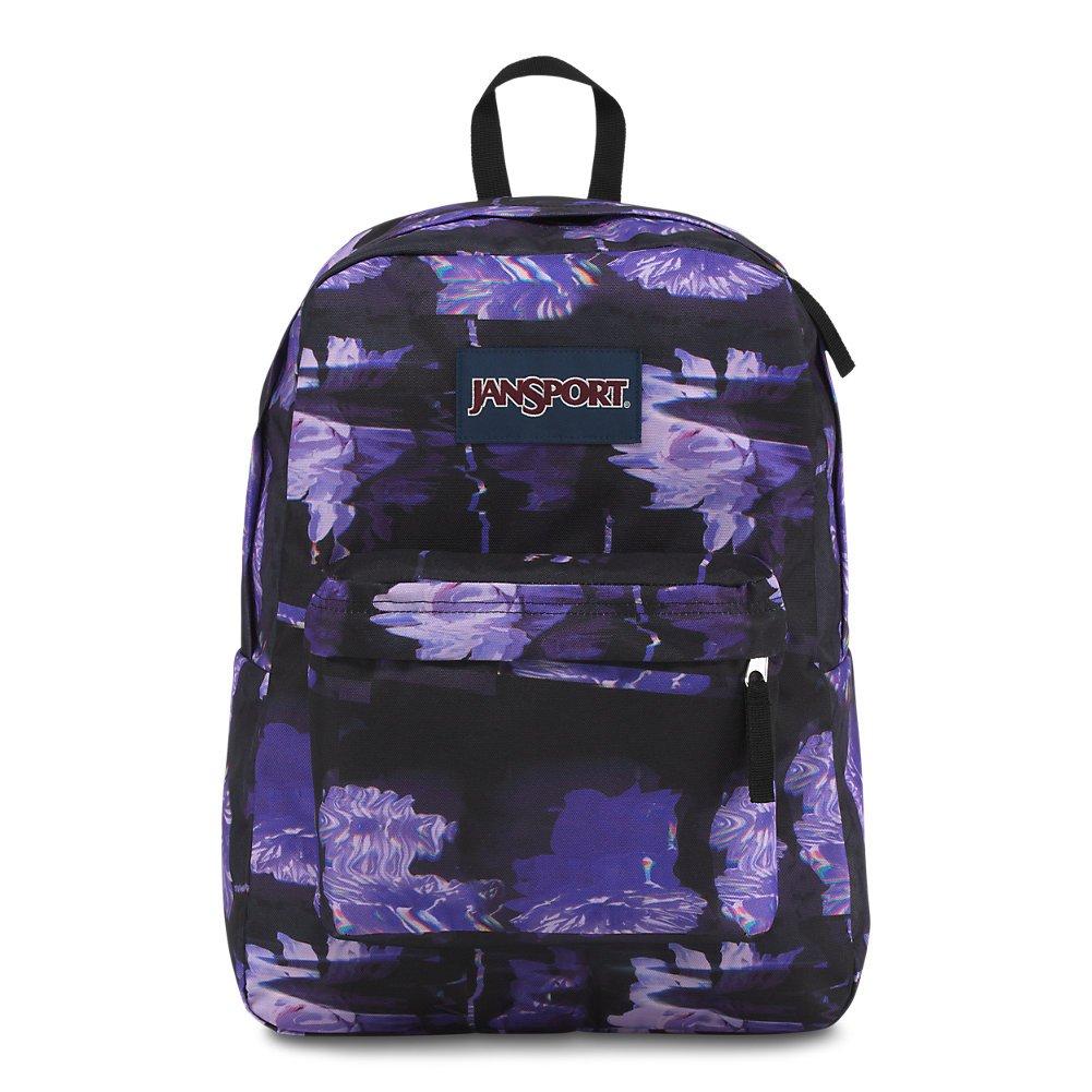 JanSport Unisex Superbreak Classic Ultralight Backpack Glitch Floral