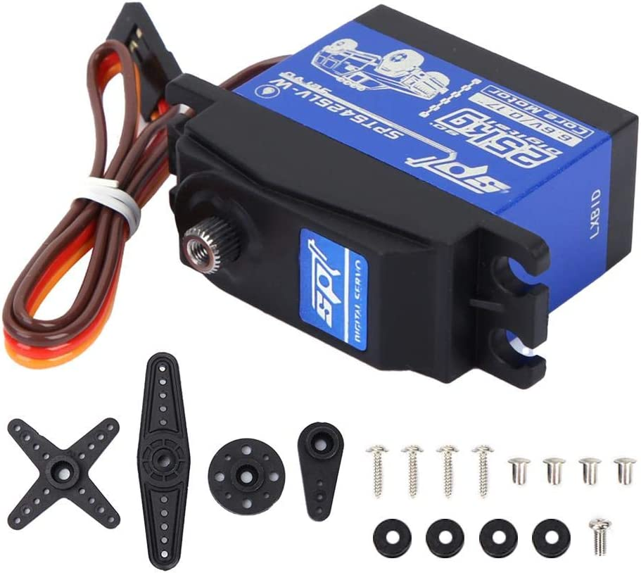 RC Servo Digital, 25KG 90 ° Servo Digital para 1: 8 1:10 Accesorio ...