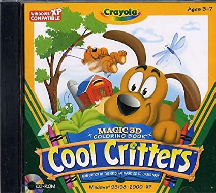 Amazon.com: Crayola Magic 3d Coloring Book -Cool Critters ...