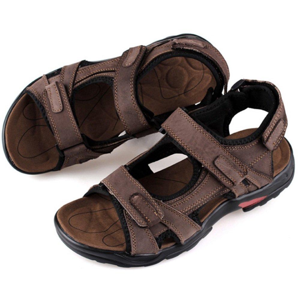 Wangcui Sandalen Breathable Herren Sommer Outdoor Sports Breathable Sandalen Beach Schuhe (24.5-29.0) cm (Farbe : Rot, Größe : 42 EU) Rot e2b51e