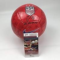 $134 » Autographed/Signed Carli Lloyd 2x WC Champs Red Team USA USWNT Soccer Ball JSA COA