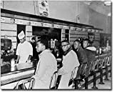 Greensboro Lunch Counter Sit-In at Woolworth's 8x10 Silver Halide Photo Print