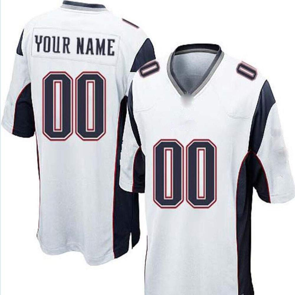 Custom Mesh Replica Football Game Jersey Embroidered Team Name and Your Numbers