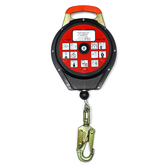Clow EPI arnés de seguridad accesorios retráctil tipo caída ...