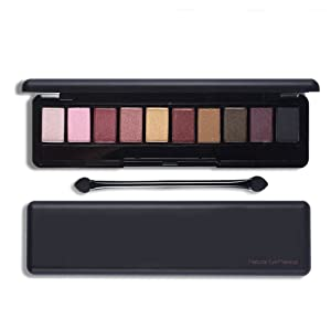 CINEEN Professional 10 Color Shimmer Glitter Eye Shadow Matte pearl Natural Eyeshadow Palette Set Makeup Tools (Type A)