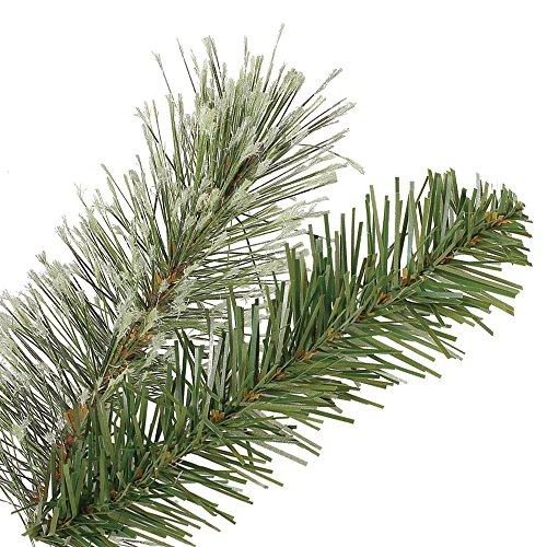 Home Heritage Stanley 7' Pencil Artificial Pine Slim Christmas Tree with Lights by Home Heritage (Image #2)