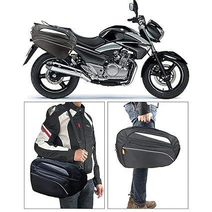 collar.y Un par de Equipaje Lateral para Motocicleta ...