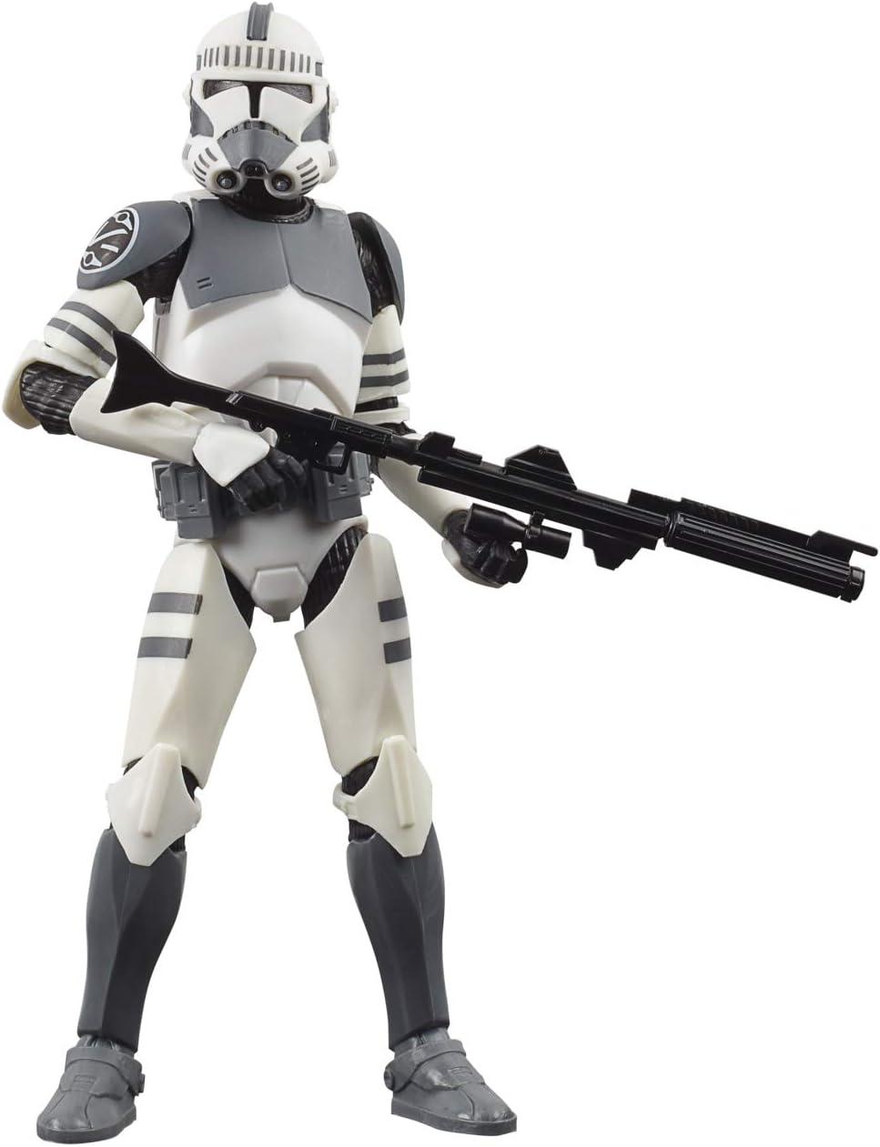 Star Wars Black Series Trooper (Kamino) Juguete de 6 Pulgadas a Escala The Clone Wars Figura de acción Coleccionable, niños a Partir de 4 años (Hasbro E9354)