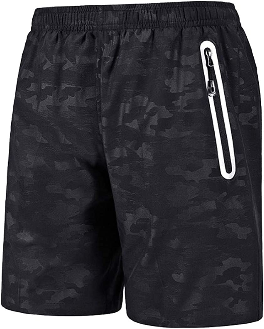 OSYARD Hommes Shorts de Bain Surf Camouflage en /élastique avec Poches /à Glissi/ère
