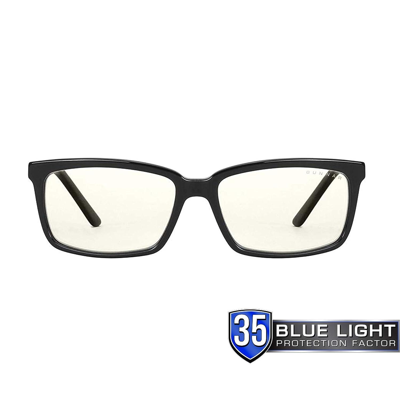 5a7925d76c8b Amazon.com: GUNNAR Gaming and Computer Eyewear/Haus, Clear Tint - Patented  Lens, Reduce Digital Eye Strain, Block 35% of Harmful Blue Light: Computers  & ...