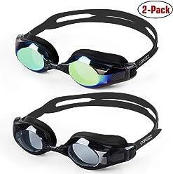 632ed957a4 COPOZZ Swim Goggles- Free Protection Case