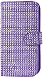 Reiko Diamond Flip Case HTC ONE M8 - Retail Packaging - Purple