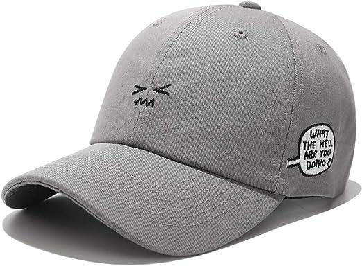 zhuzhuwen Nueva expresión Linda de Corea Sombrero Lado Bordado ...