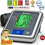 Dr. Trust (USA) Automatic Talking A-One Max Blood Pressure testing Monitor (Gray)