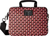 Marc Jacobs Women's Logo Scream 13'' Commuter Case Red Multi One Size